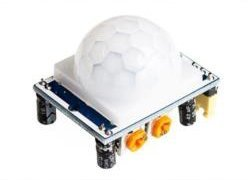 Датчик движения HC-SR501 (PIR Motion sensor, infrared human body induction module) - фото