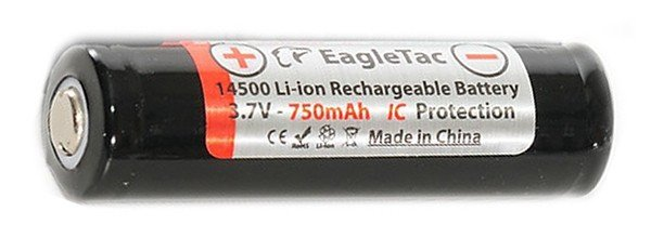 EagleTac 14500 Li-ion battery 750 мАч