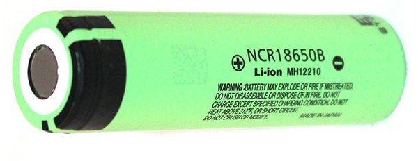 Panasonic NCR18650B 3400mAh 18650 Li-ion Battery 5,9А - фото